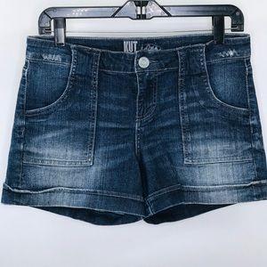 Kut from the Kloth (Pork Chop) Denim Shorts Size 6